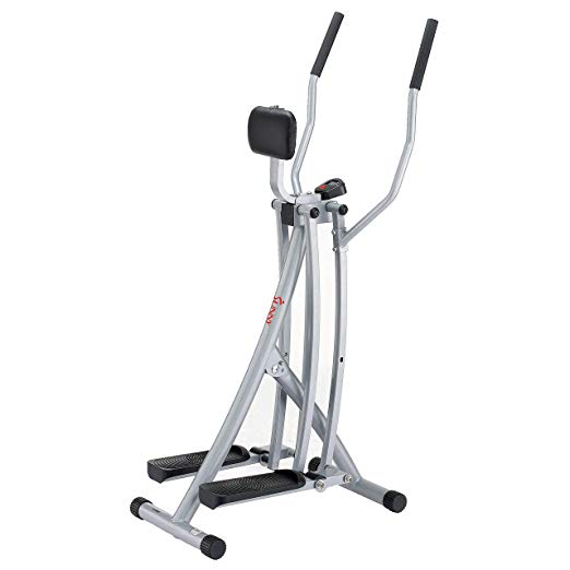 Sunny Health & Fitness SF-E902 Air Walk Trainer Elliptical Machine Glider