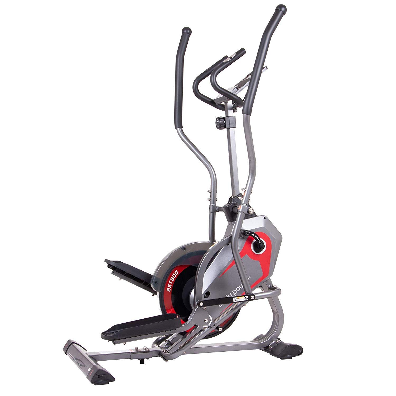 Body Power 2-in-1 Elliptical Stepper Trainer