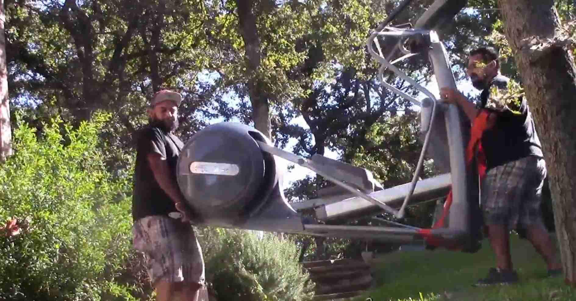 elliptical machine weigh