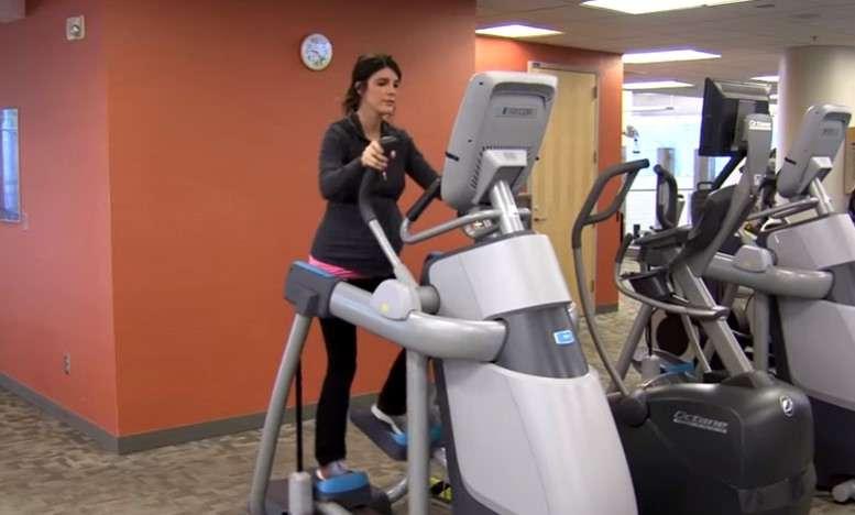 indoor elliptical in pregnency