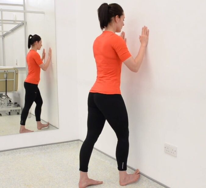 Wall stretches