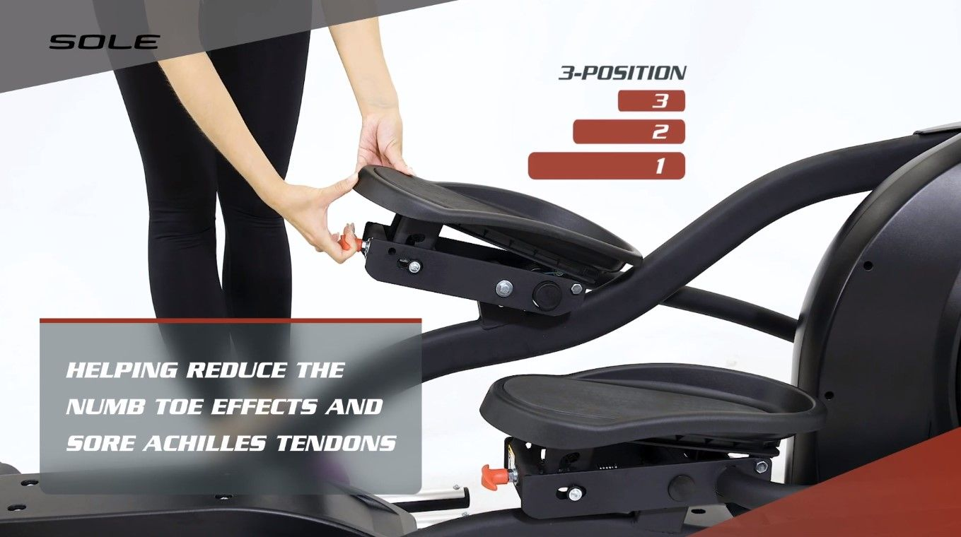 Allows adjusting stride easily